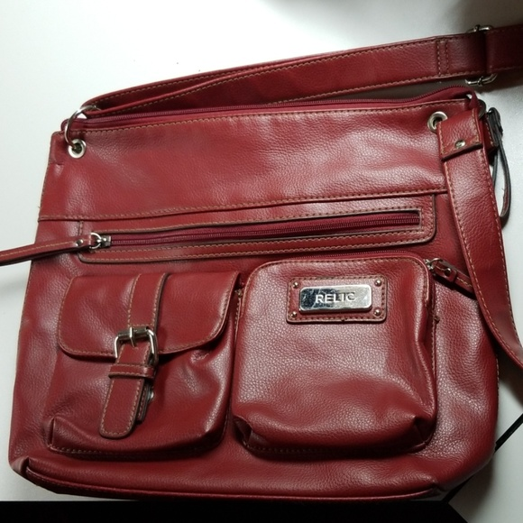 Relic Handbags - Red Relic shoulder bag